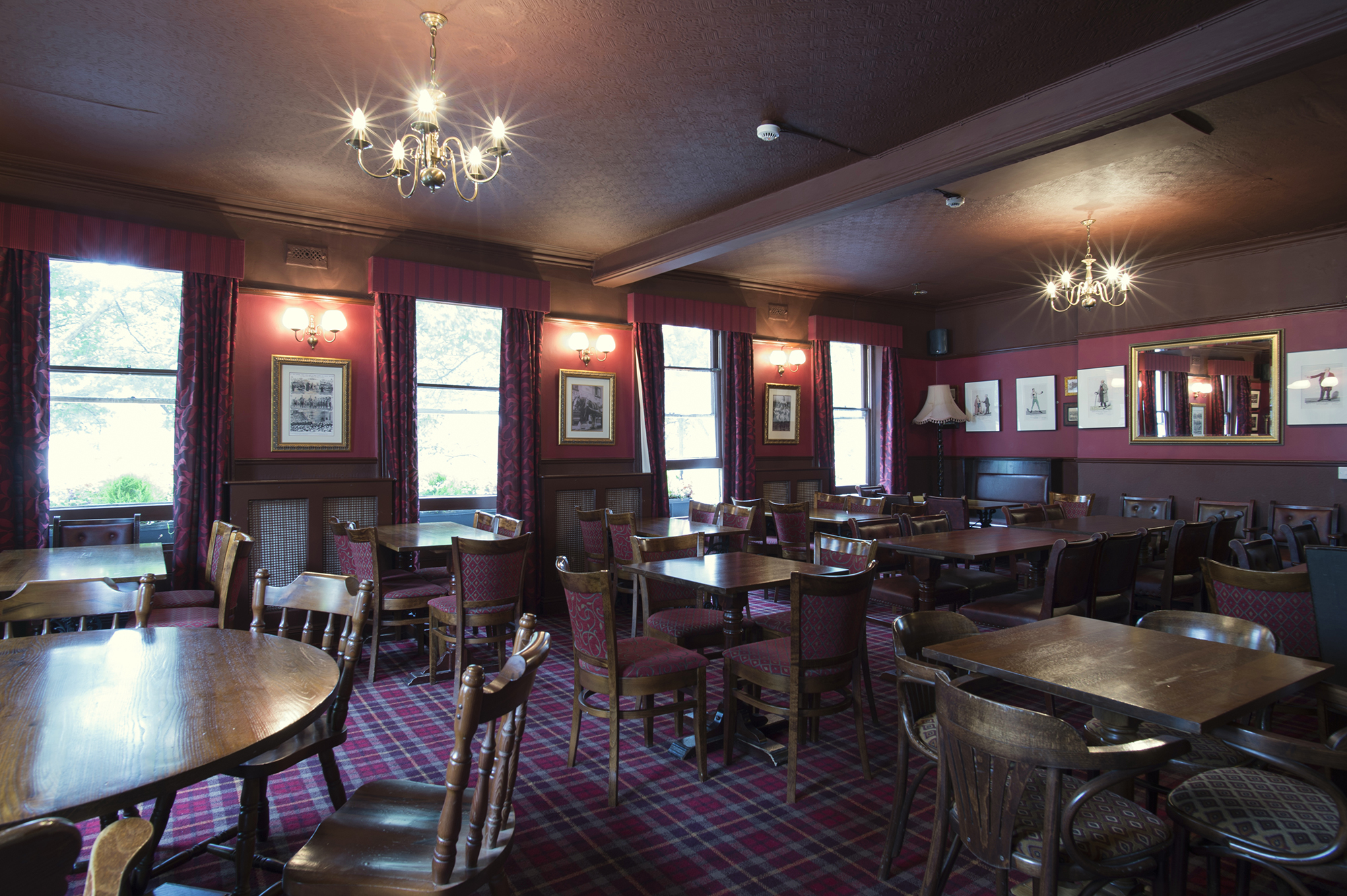 Food and drink at the Rugby Tavern London
