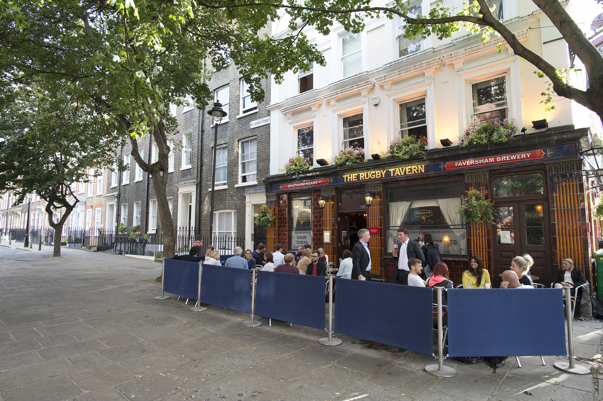 Rugby Tavern London Local Area