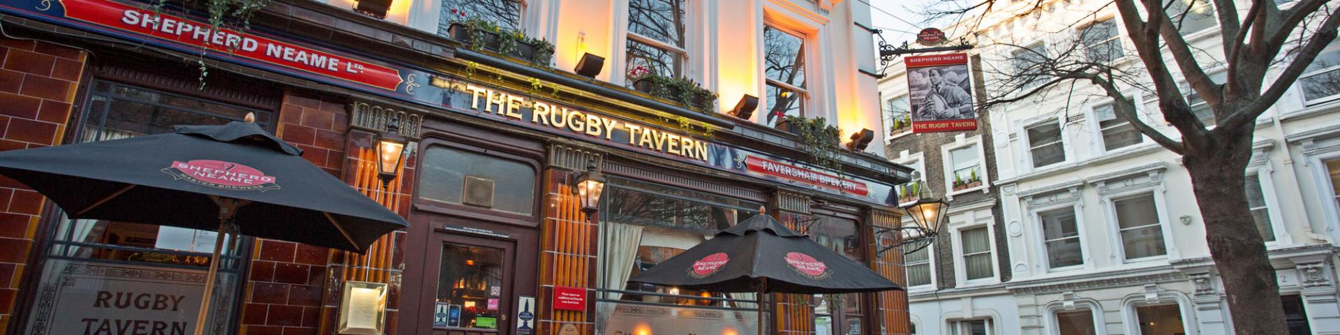 Rugby Tavern, Clerkenwell, London