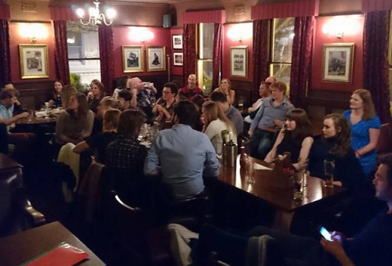 Rugby Tavern London Function Room